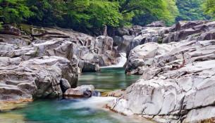 石鎚スカイライン&面河渓ルート